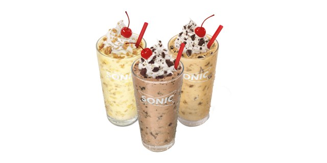 Sonic Birthday Cake Shake Sonic Just Launched Three Cookie Jar Shakes