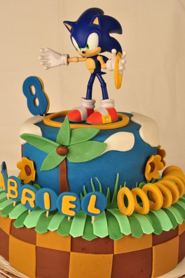 Sonic Birthday Cake Sonic Birthday Cake Cakecentral
