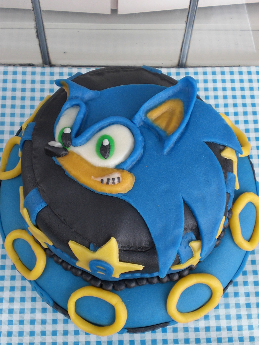 Sonic Birthday Cake For 7 Year Old Cakecentral