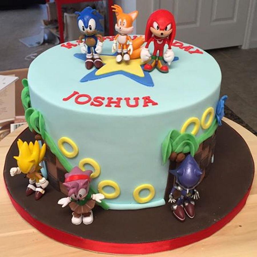 Sonic Birthday Cake Sonic Dash Cake Cakecentral