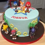 Sonic Birthday Cake Sonic Dash Cake Cakecentral