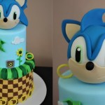 Sonic Birthday Cake Sonic The Hedgehog Cake Tutorial Youtube