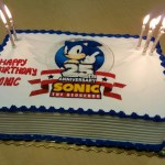 Sonic Birthday Cake Sonic The Hedgehog On Twitter Celebrating Sonics 25th Anniversary