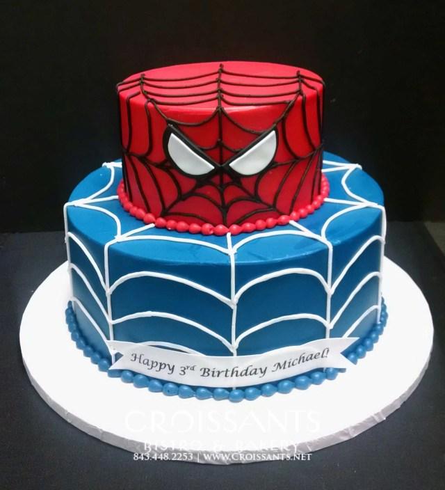 Spiderman Birthday Cake Pin Amy Allen On Spider Birthday In 2019 Pinterest Cake