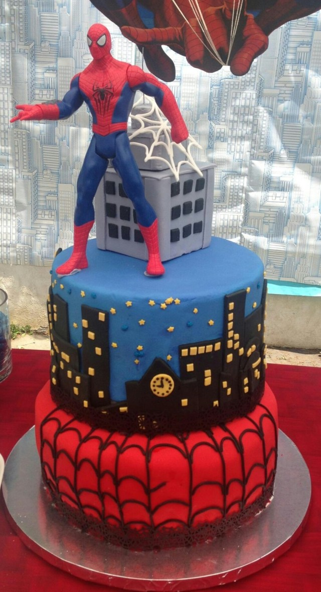 Spiderman Birthday Cake Spiderman Birthday Cake Cakecentral