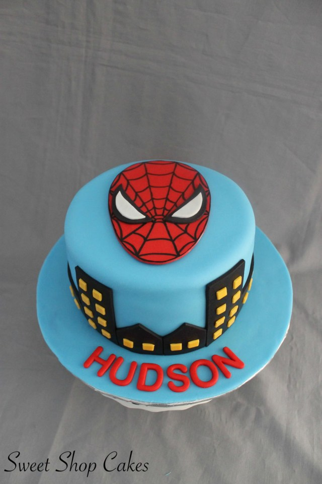 Spiderman Birthday Cake Spiderman Themed Birthday Cake Cakecentral