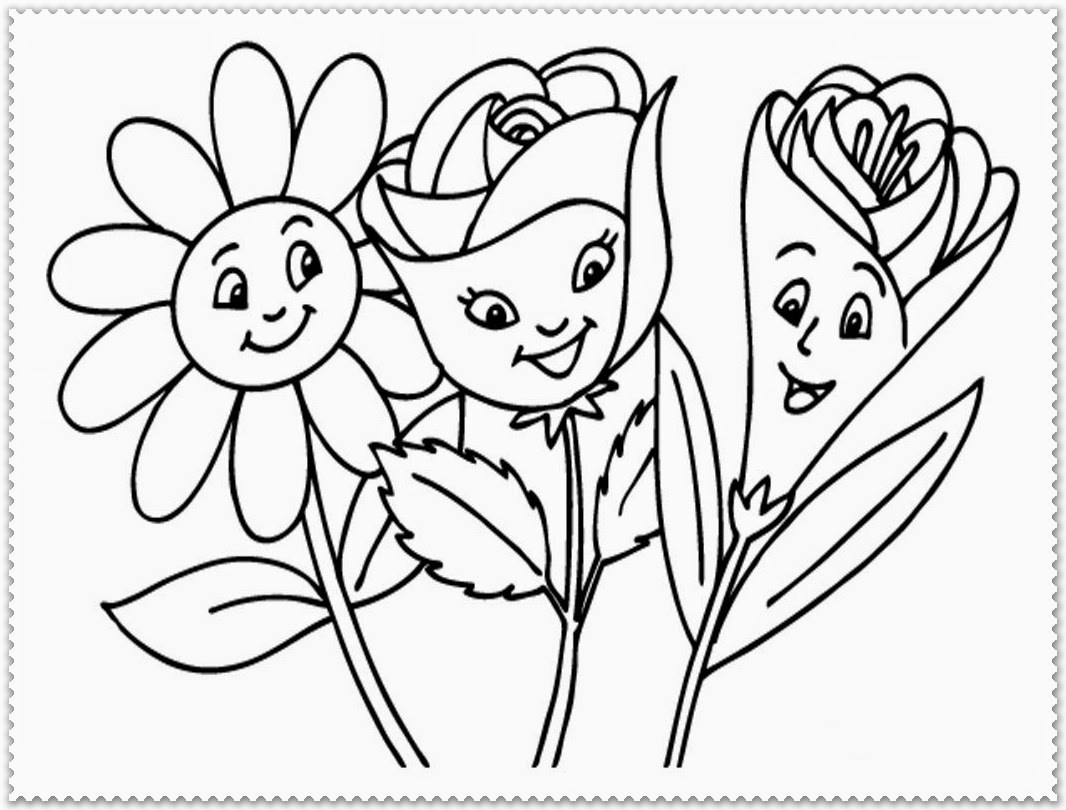 Spring Flowers Coloring Pages Coloring Pages Lilac Flower Drawing Spring Flowers To Print