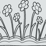 Spring Flowers Coloring Pages Free Printable Daisy Flower Coloring Pages Children Garden Flowers
