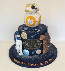 Star Wars Birthday Cakes Star Wars Birthday Cake Childrens Birthday Cakes