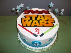 Star Wars Birthday Cakes Star Wars Birthday Cake