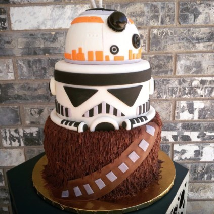 Star Wars Birthday Cakes Star Wars Birthday Cakes Popsugar Family