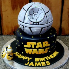 Star Wars Birthday Cakes Star Wars Themed Birthday Cake Cakecentral
