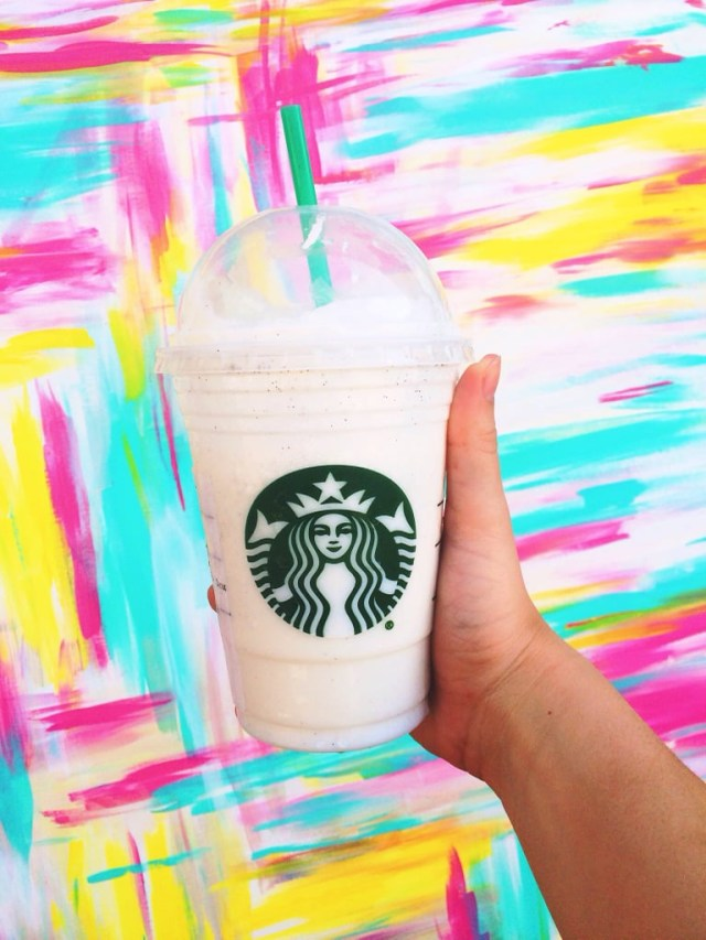 Starbucks Birthday Cake Frappuccino Birthday Cake Frappuccino The Best Secret Menu Items From