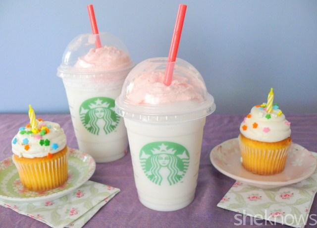 Starbucks Birthday Cake Frappuccino Starbucks Birthday Cake Frappuccino We Tried It Is It Worth It