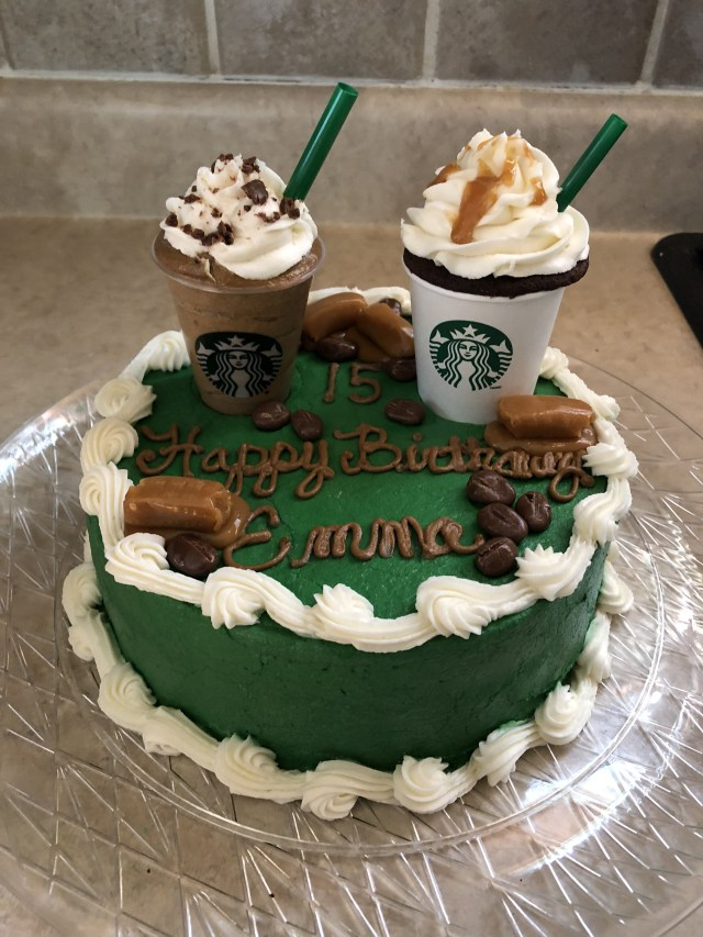 Starbucks Birthday Cake Starbucks Birthday Cake Cake Ideas In 2018 Pinterest Cake