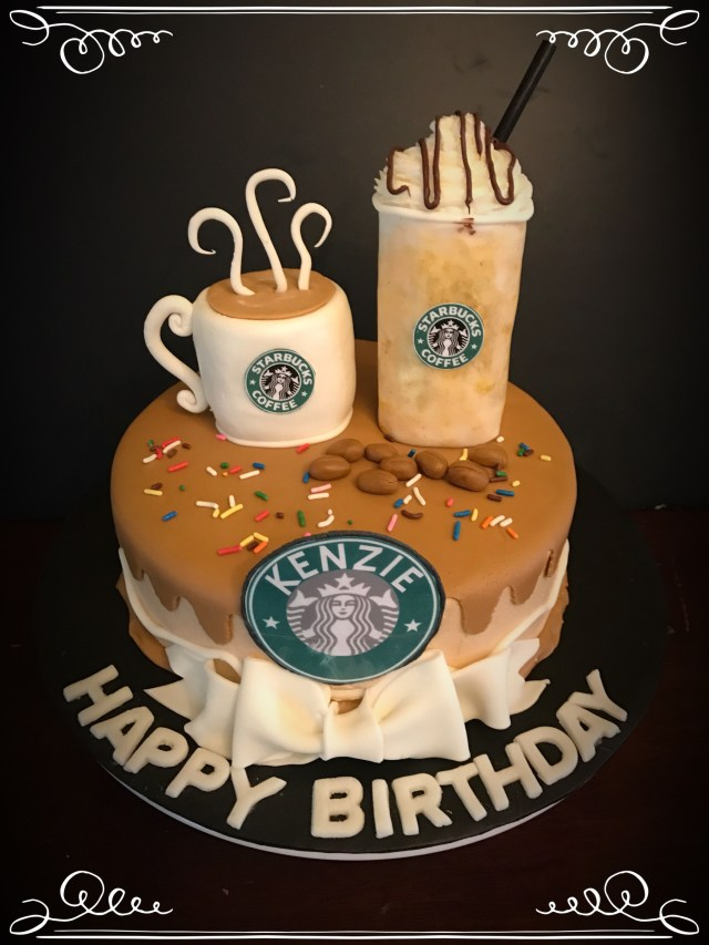 Starbucks Birthday Cake Starbucks Birthday Cake Cakes Ive Made Pinterest Starbucks