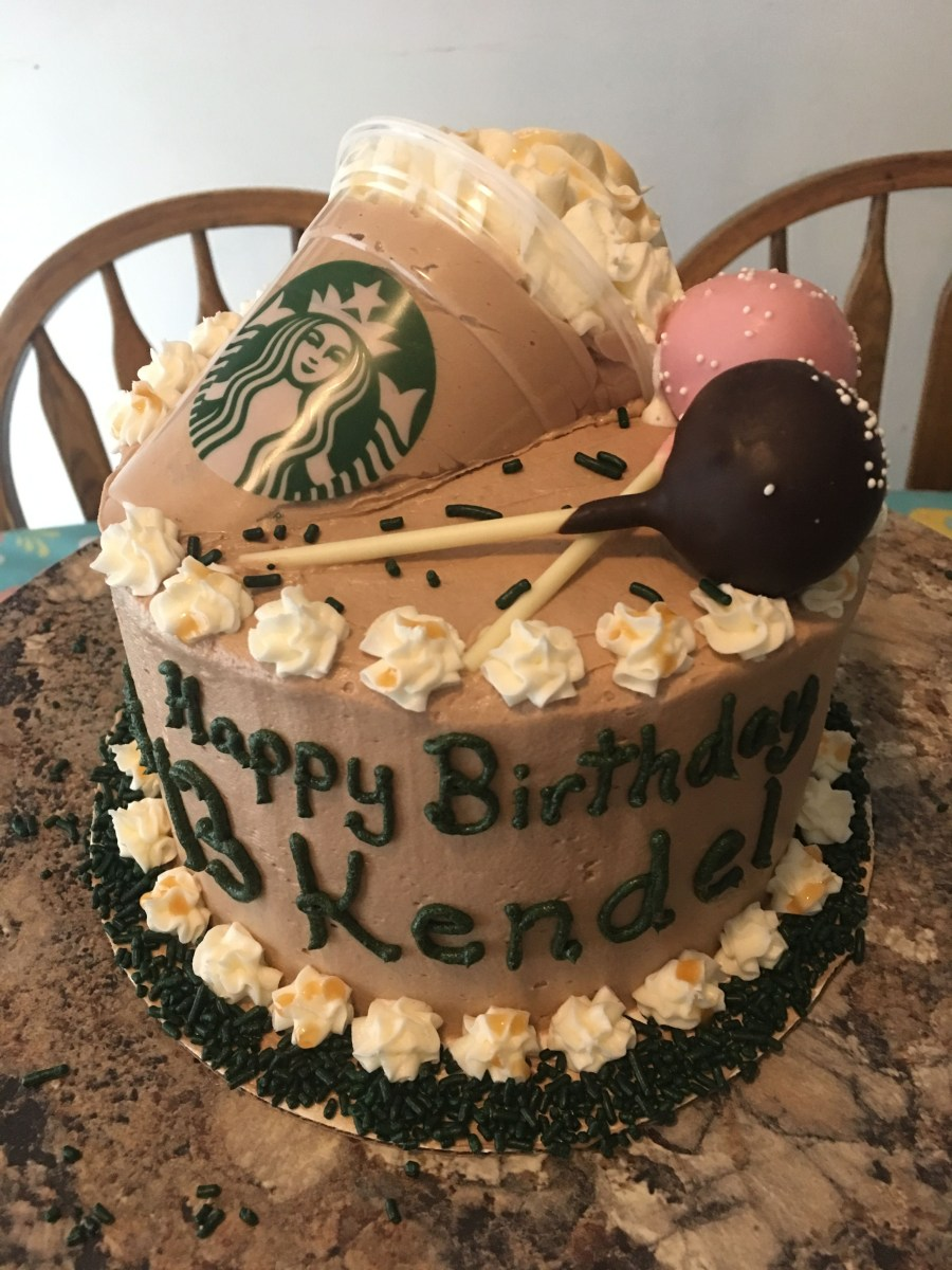 Starbucks Birthday Cake Starbucks Birthday Cake Cakes Pinterest Starbucks Birthday