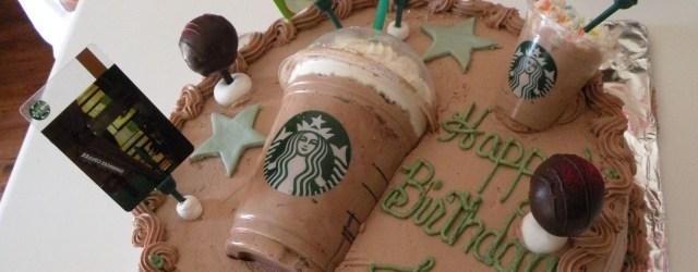 Starbucks Birthday Cake Starbucks Cake Made Jeanette Labella Jlabella Cakes Cake