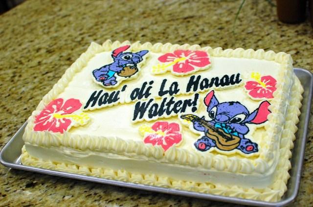 Stitch Birthday Cake How To Make A Large Red Velvet Sheet Cake Disney Lilo Stitch