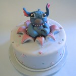 Stitch Birthday Cake Stitch Birthday Cake I Was Comissioned To Make A Disney In Flickr