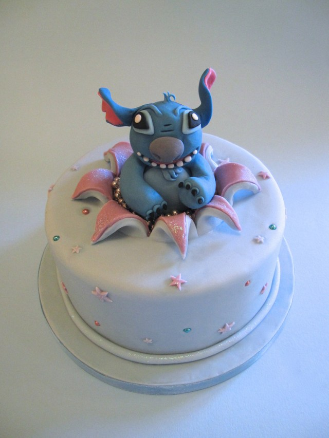 Stitch Birthday Cake Stitch Birthday Cake I Was Comissioned To Make A Disney In Flickr