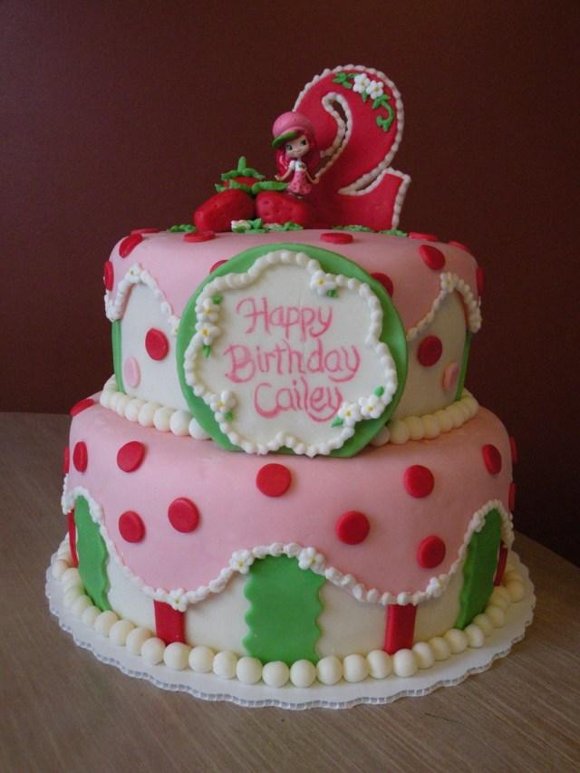 Strawberry Shortcake Birthday Cake Strawberry Shortcake Birthday Cake Cakecentral