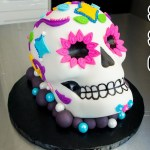 Sugar Skull Birthday Cake Sugar Skull Cake Coco Movie Cake From Disneypixar El Dia De Los