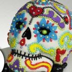 Sugar Skull Birthday Cake Sugar Skull Cake Dia De Los Muertos Diy How To Youtube