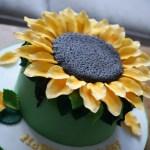 Sunflower Birthday Cake Giant Sunflower Birthday Cake Bakealous