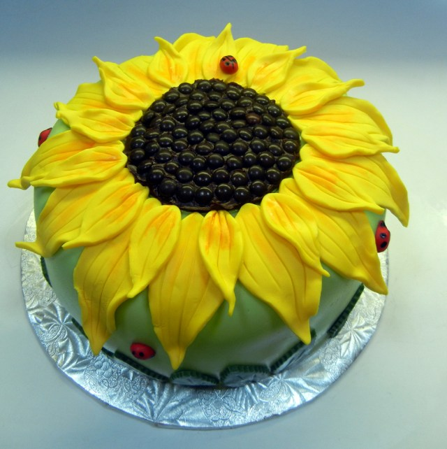 Sunflower Birthday Cake Sunflower Birthday Cakes