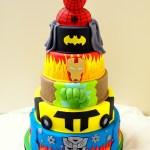 Superhero Birthday Cake 11 Super Hero Themed Cakes Photo Superhero Birthday Party Cake