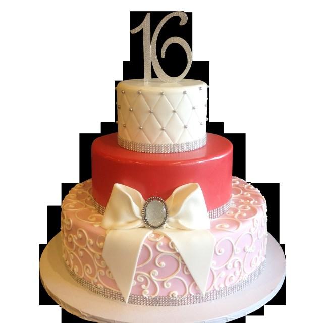 Sweet 16 Birthday Cake Elegant Cakes In Nyc