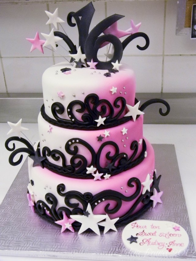 Sweet 16 Birthday Cake Sweet Sixteen Birthday Cake Cakecentral