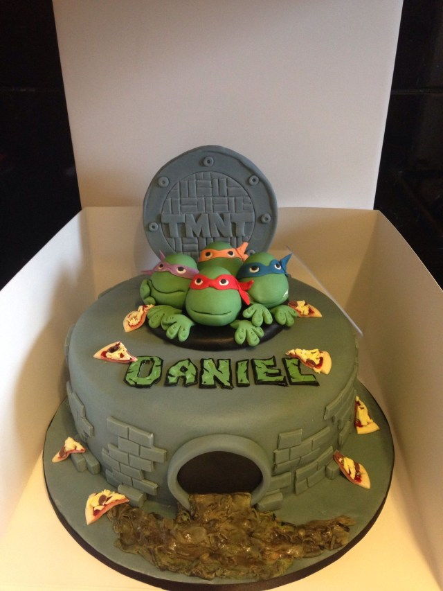 Teenage Mutant Ninja Turtles Birthday Cake Teenage Mutant Ninja Turtles Tmnt Cake Coul Be Cute With Green