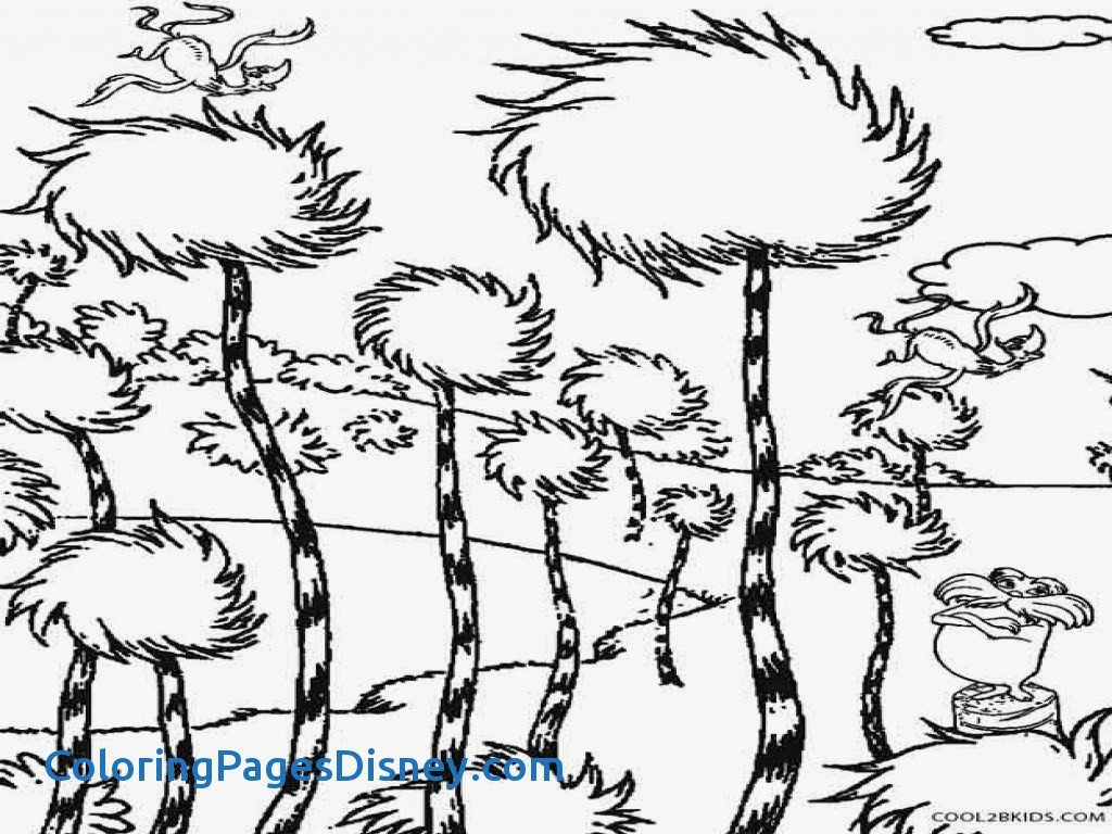 Free Printable Lorax Coloring Pages For Kids | 768x1024