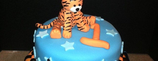 Tiger Birthday Cake Tiger Birthday Cake Cakecentral