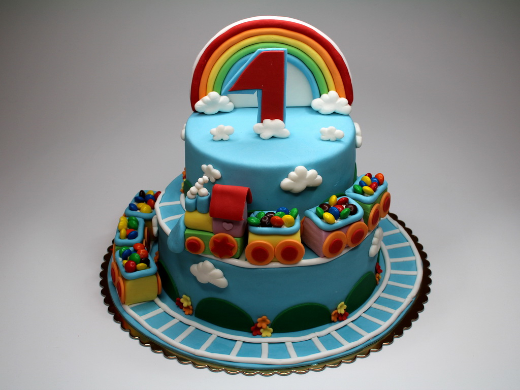 Train Birthday Cakes 11 For Toddlers Photo Kids