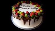 Tres Leches Birthday Cake Decorando Pastel De Tres Leches Three Milk Cake Decoration Youtube