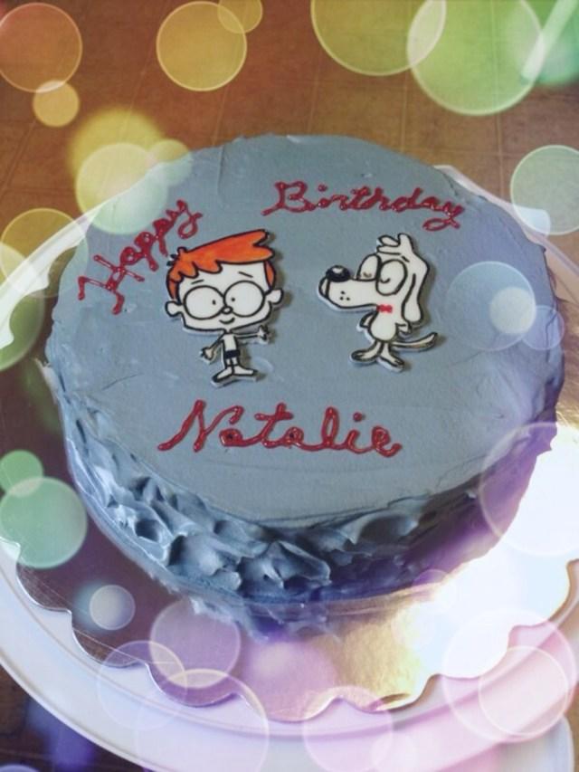 Tres Leches Birthday Cake Mr Peabody Sherman Birthday Cake Tres Leches Cake Cakecentral