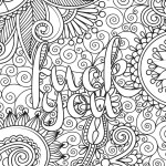 Trippy Coloring Pages Stoner Abstract Coloring Pages For Adults