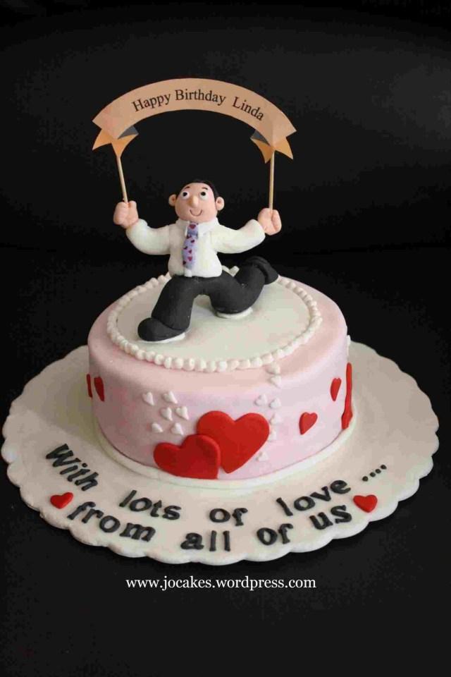 Unique Birthday Cakes Photo Happy Man Cake Rhsnackncakecom Special Unique Birthday Cakes