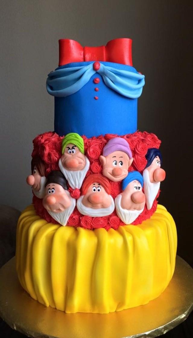 Unique Birthday Cakes Snow White On Cake Central Cakes Cake Birthday Cake Snow White