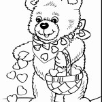 Valentine Coloring Pages To Print Valentine Color Pages Printable New Valentines Coloring Fresh Hearts