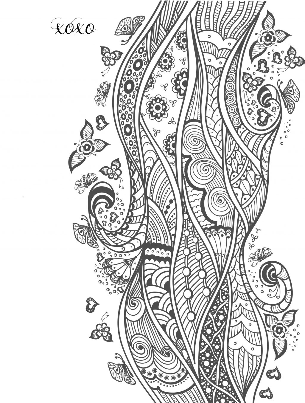 Valentines Day Coloring Pages For Adults Free Printable Valentine ...