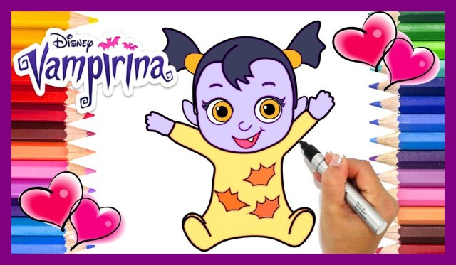 Vampirina Coloring Pages Ba Vampirina Coloring Pages