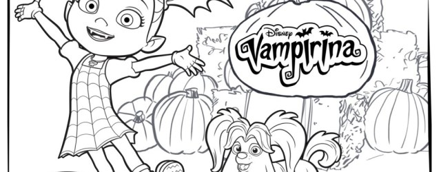 Vampirina Coloring Pages Vampirina Coloring Pages For Your Little One Disney Family