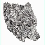 Wolf Coloring Pages For Adults Wolf Coloring Pages For Adults Cute Wolf Coloring Pages