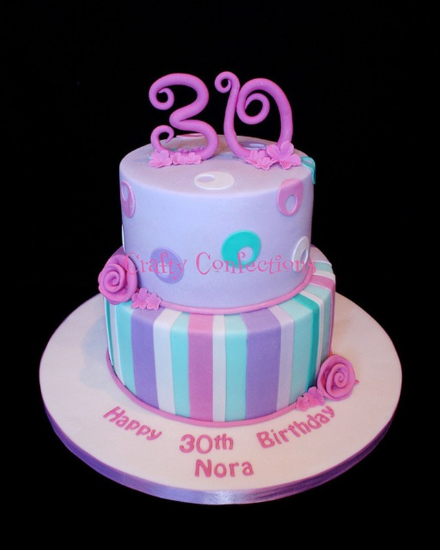 Woman Birthday Cake Birthday Cakes For 30 Year Old Woman Birthday Cake Cake Ideas Inside
