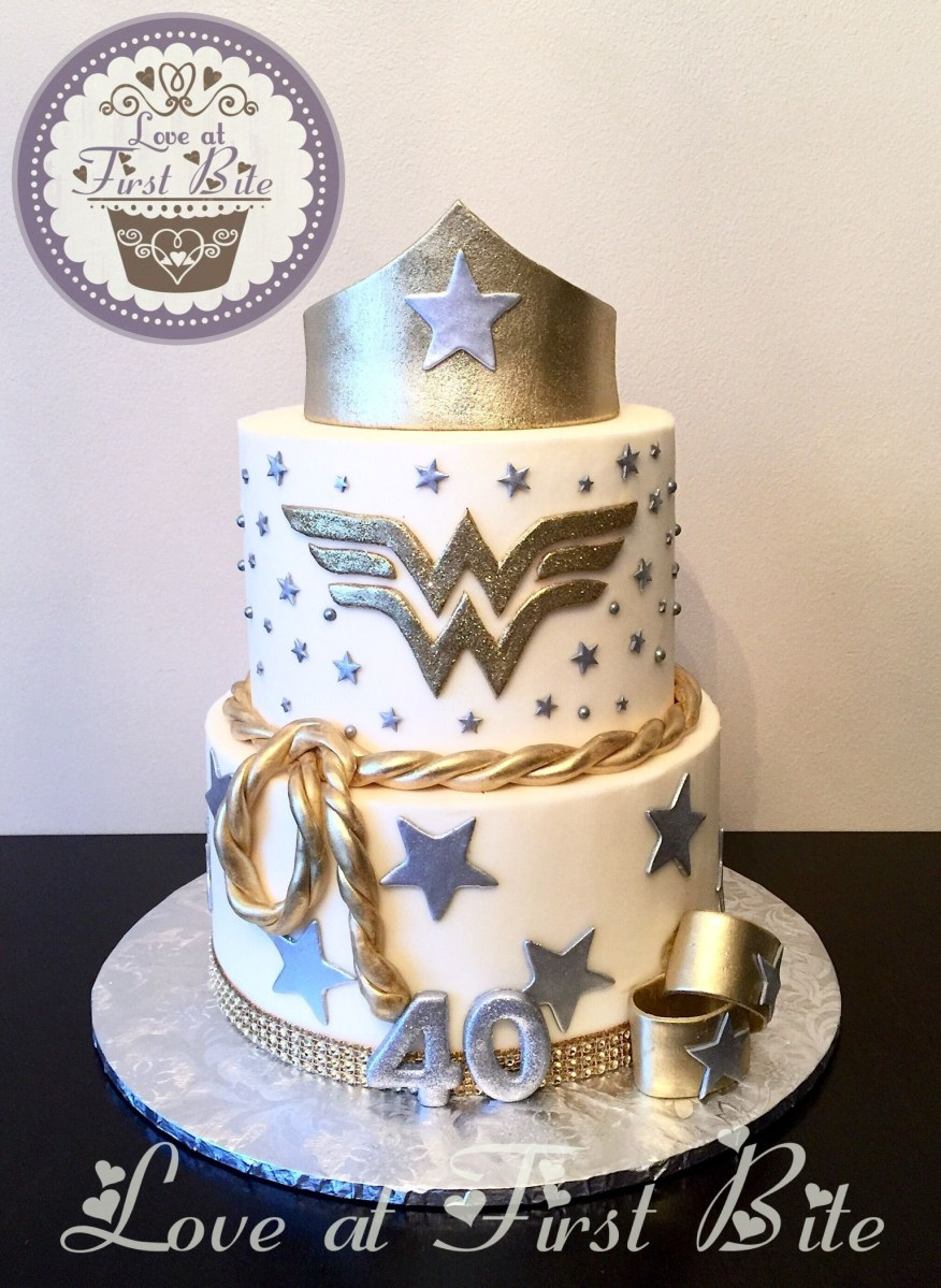 Woman Birthday Cake Wonder Cakes Pinterest 40th