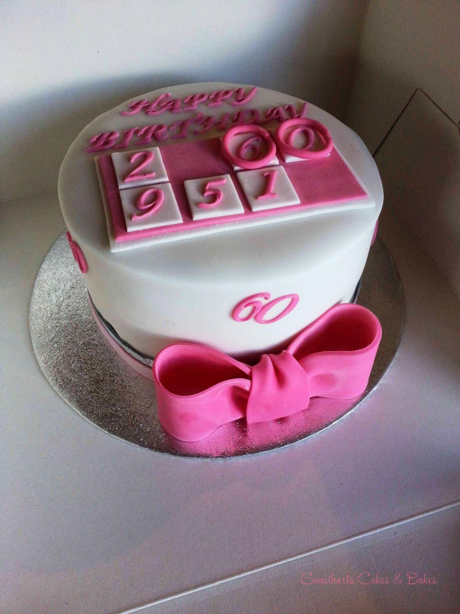 Womens Birthday Cake Ideas 60th Cakes Women Protoblogr Design